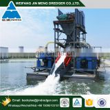 1250 m3 Jet Suction Gold Dredging Dredger for Gold Mining in Mongolia