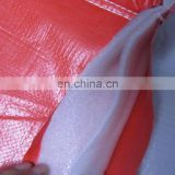 75gsm PE tarpaulin and 4mm foam PE insulated tarps for outside Cold protection and insulation