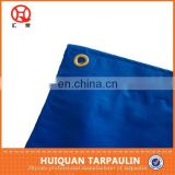 Blue Tarpaulin with eyelet and rope
