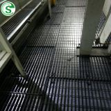 Chemical industry heavy duty galvanized flat bearing bar welded open steel grating platform
