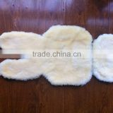 Customized sheepskin buggy liner for babby seat cover