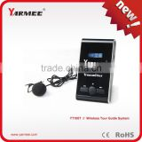 99 channels wireless audio tour guide system for museum with charging case pack