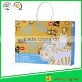 recyclable Bespoke drawstring paper bag for cloth