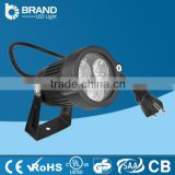 Aluminum 3W LED Garden Light with Plug garden landscape led light