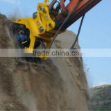 CASE Excavator Hydraulic Ground Compactors, Road Construction Compactor, Rubber Plate Compactor