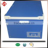 pp corrugated handles plastic moving boxes & transport container