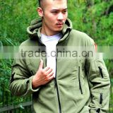 military army outdoor tactical warm polar fleece jacket