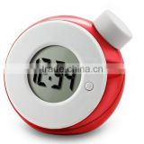 Fantastic water powered alarm clock intelligent quieten LED clock environmental water power clock without battery                                                                         Quality Choice