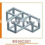 aluminum truss corner, corner connect with truss, corner joint