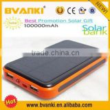 Top selling products in alibaba 100000mah dual usb portable solar panel power bank