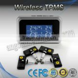 Valuable Hot Item Stable Internal TPMS for Vehicles with Screen Digital Display Tire Pressure Monitoring System