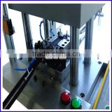 Semi auto top stop with pin box and top stop with bottom stop plastic zipper injection molding machine