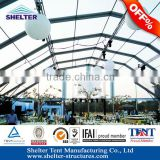 Guangzhou Aluminum structure PT series Polygonal clear roof swimming pool tents for swimming poor