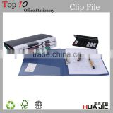 file clip plastic paper file folder with spring clip portfolio PP lever clip file office stationery