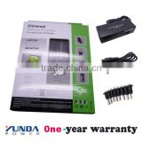 high quality 90W Intelligent auto switch voltage Laptop Adapter with 8 Various Connectors