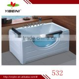 Hot sale acrylic massage bathtub_freestanding luxury bathroom bathtub_whirlpool bathtub price/bath tub