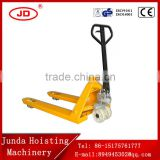hand pallet truck with AC pump forklift 1 ton-3 ton High Quality Hydraulic Manual Hand Pallet Truck