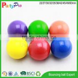 online shop china supplier new product BSCI and Disney Social Audit Factory bulk ball pit balls solid smiley rubber ball