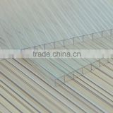 4mm twin wall polycarbonate sheet / carbon fiber sheet 2mm / tinted plastic roofing sheet