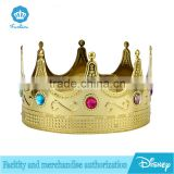 2016 New Party Decoraion Plastic Birthday Party Boy Prince Golden Crown