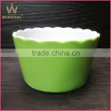 Mini ceramic casserole, bakeware ceramic bowl