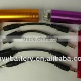 Emergency cell phone charger , AA battery charger