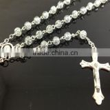 Yiwu Handmade Religious 6mm Bead Catholic Rosary Necklace