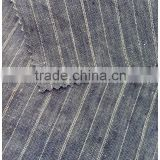 100%Linen Yarn dyed fabric For men