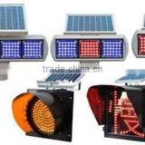 Ruifulai Yellow Solar Flashing Warning Light