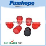 High performance durable red pu butt welded pipe end cap