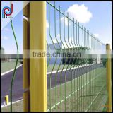 (Factory direct sales) backyard metal fence/galvanized welded wire mesh fence/curve wire mesh fence