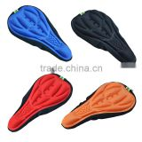Comfortable Colorful Cheap Custom Bicycle Seat Cover Bike Saddle Cover