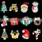 3D Nail Art Stickers Christmas Snow/Christmas Boot/Deer/Christmas Bell Glitter Nail Gel Tools DIY Rhinestone & Decoration
