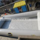 Attractive commercial PVC inflatable swimming pool cover                                                                         Quality Choice