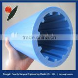 High-tech product uhmwpe belt conveyor roller/for alkali plant/ fertilizer factory/ dock
