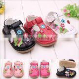 2016 adorable butterfly coloful baby sandal shoes quality toddler rubber shoes                                                                         Quality Choice