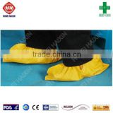 Disposable pp pe full machine made shoe cover