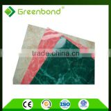 Greenbond polyurethane insulated metal wall panel aluminum composite panel