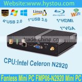 laptop computers 1080p htpc with Pentium N2920 processor Quad core Dual HD_MI display high definition 300M WIFI