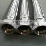 Stainless steel metallic hose with female JIC 74 degree fitting - SS304/ 316
