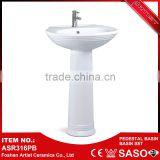 China Supplier High Quality Bathroom Desing Wash Hand Ceramic Basin