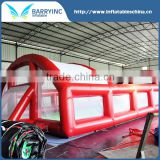 Hot sale inflatable football pitch / inflatable water soccer field