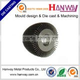 GuangZhou factory customizes aluminum die casting led bulb heat sink radiator cars auto parts