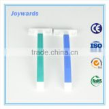 Rubber Handle Twin Blade Disposable Shaving Razor