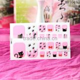 3D Nail Art Toe Sticker Tips Decoration Wraps Decal Rhinestones Glitter Foil Toe Nail for sticker