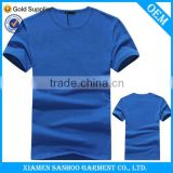 Men'S Comfortable Gym Unique T-Shirt Custom Printed Breathable Round Neck