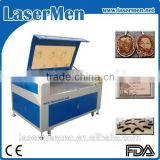 co2 laser cutting machine for mdf crafts / Jinan laser cutter engraver LM-1290