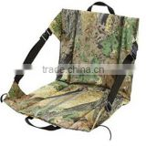 Outdoor luxury portable camo pattern seat cushion
