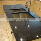 Black Galaxy Granite Tile, Slab, Countertop & Vanity Top