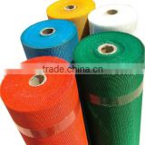 Colored wall-reinforcing fiberglass mesh/gridding cloth/fabric(China Factory&Manufacturer)